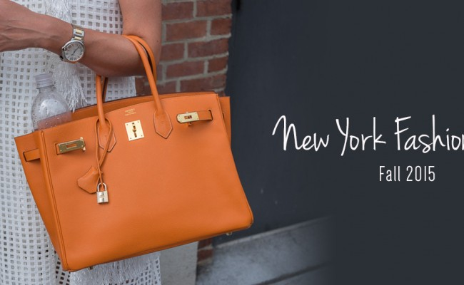 Top 5 Bags to Spot at New York Fashion Week Fall 2015