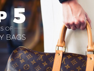 The TOP 5 TYPES OF LUXURY BAGS That Should Be in Your Closet
