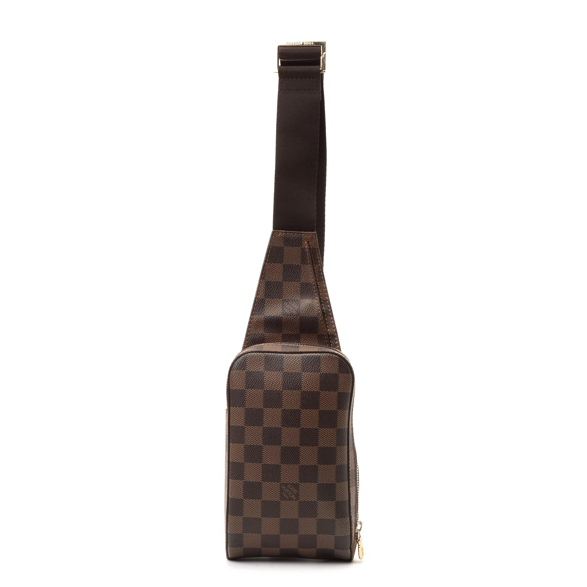 Louis Vuitton Damier Ebene Shoulder Bag 108