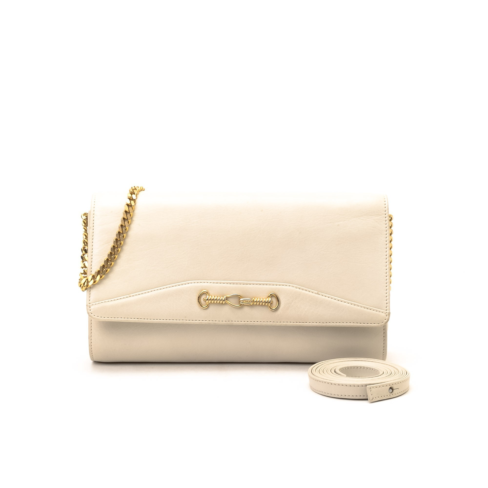 celine phantom luggage tote replica - C��LINE Two Way Bag Ivory Leather Handbag - LXR&CO Vintage Luxury