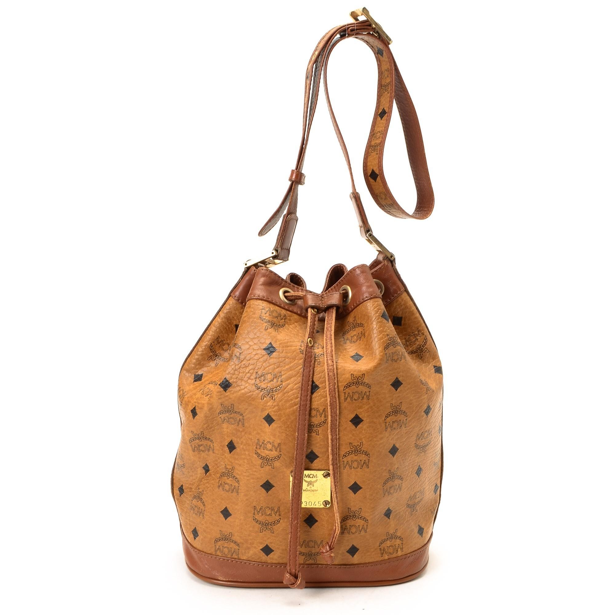 prada cognac shoulder bag