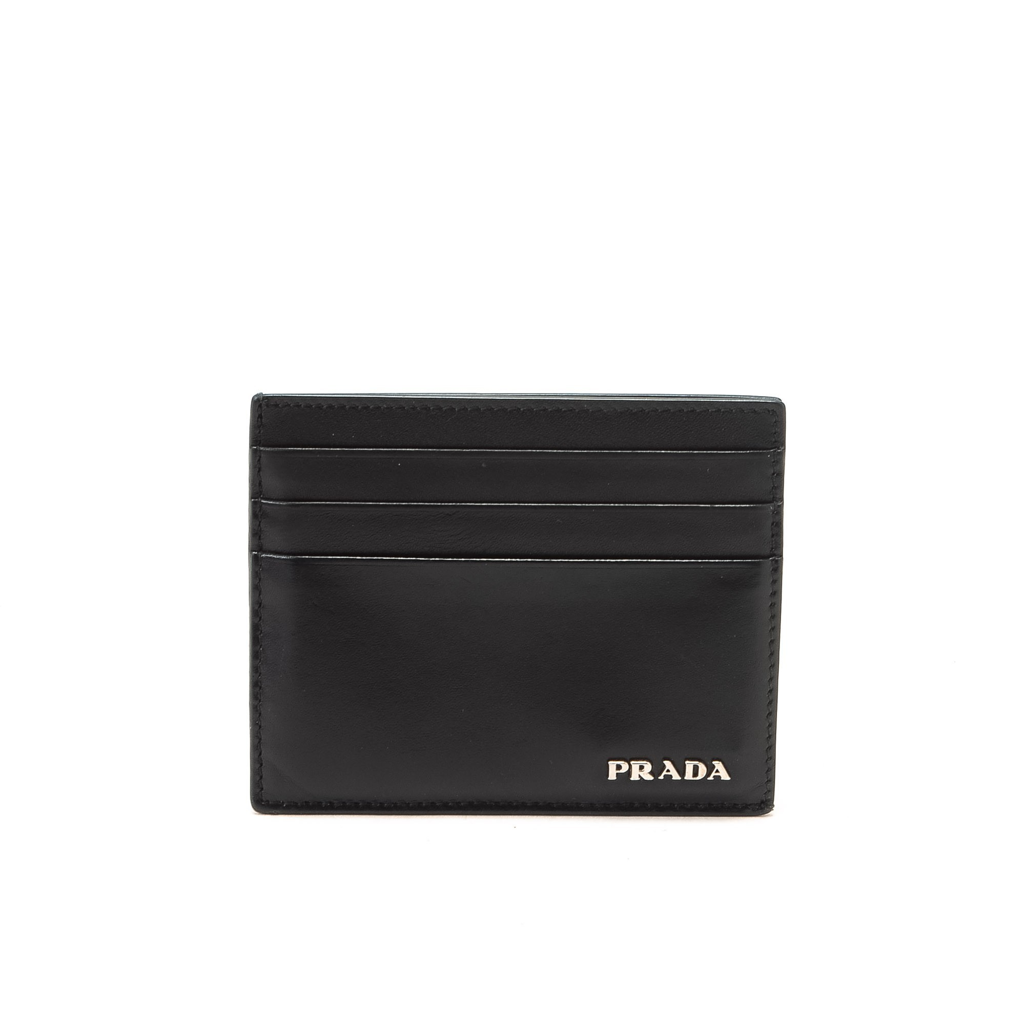 Prada Black Leather Wallet Latest Prada