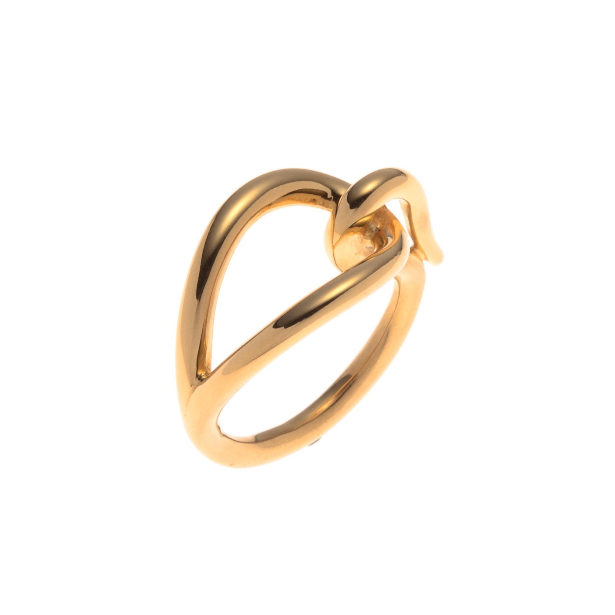 Hermes Jumbo Scarf Ring