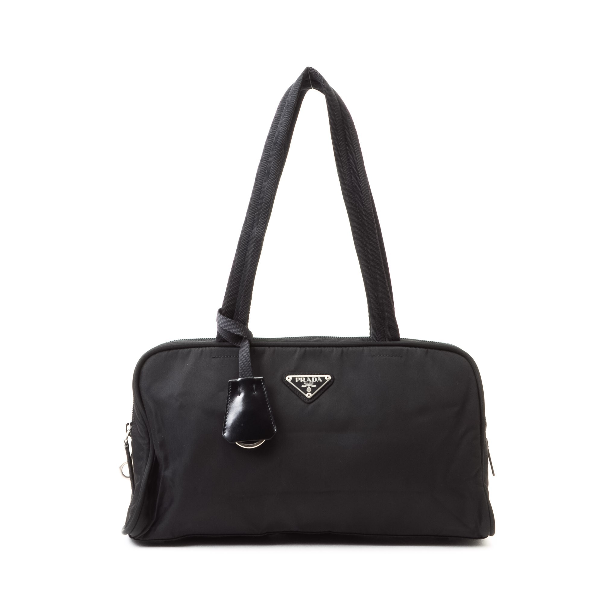 prada red flower bag - prada classic black nylon tote
