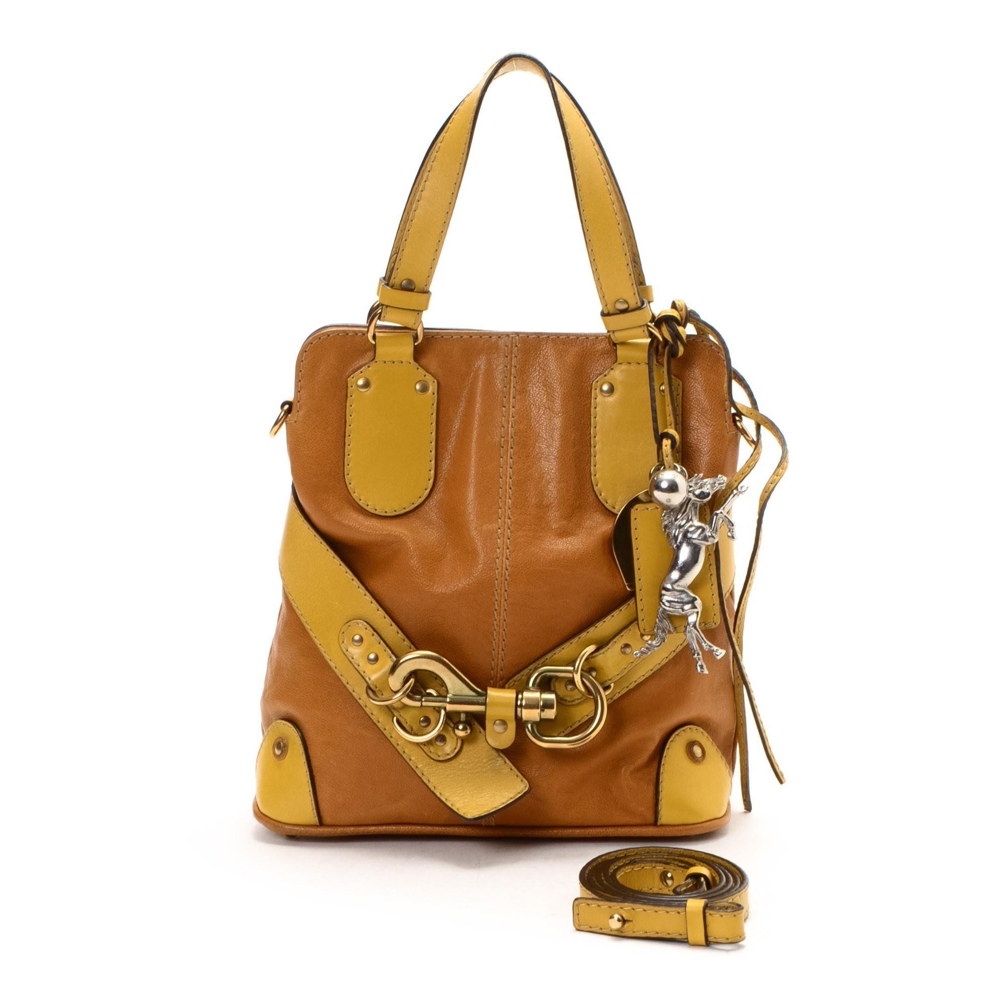 Chlo¨¦ Two Way Bag Leather Shoulder Bag - LXR\u0026amp;CO Vintage Luxury