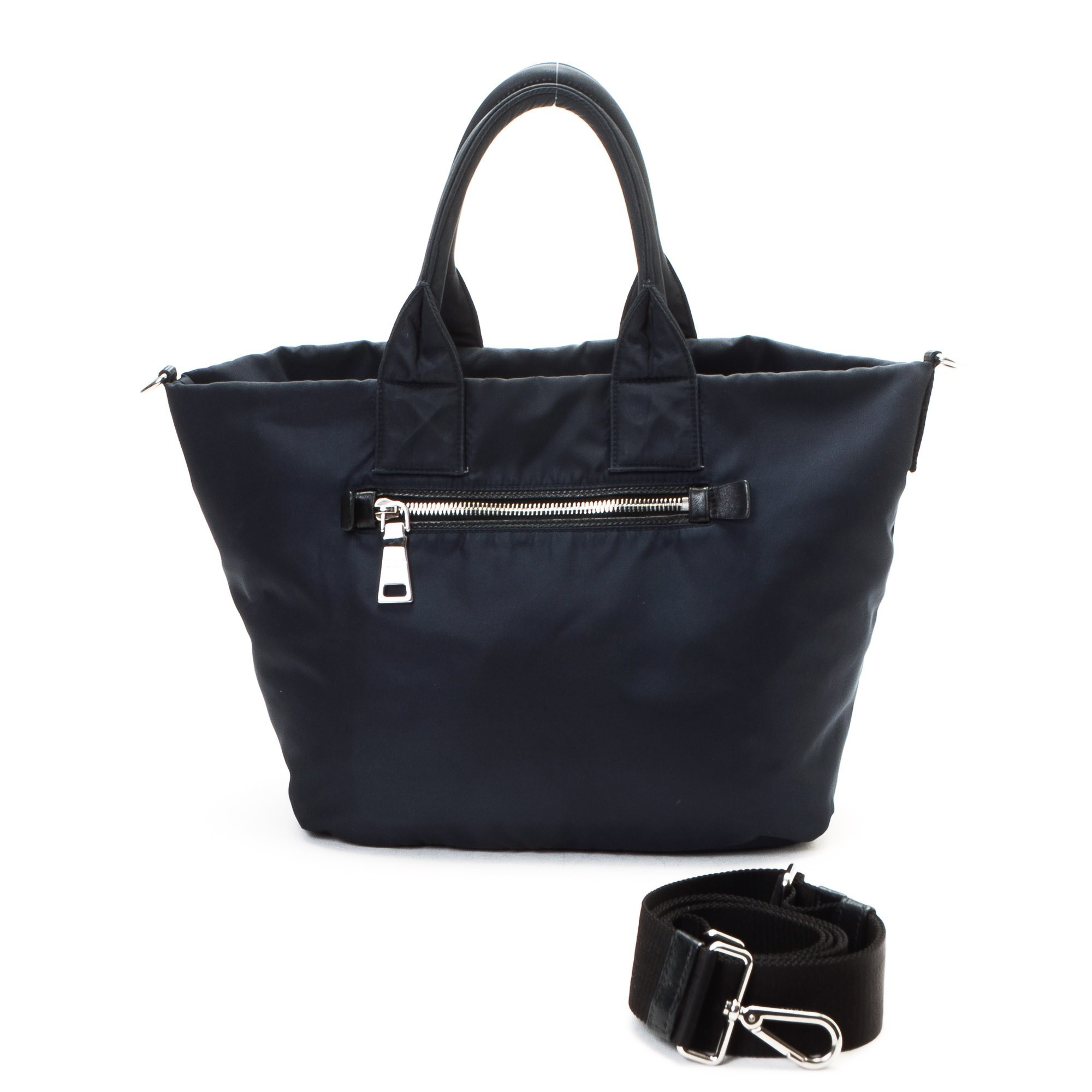 replica prada handbags sale - Prada Tessuto Two Way Bag Nylon Tote - LXR\u0026amp;CO Vintage Luxury