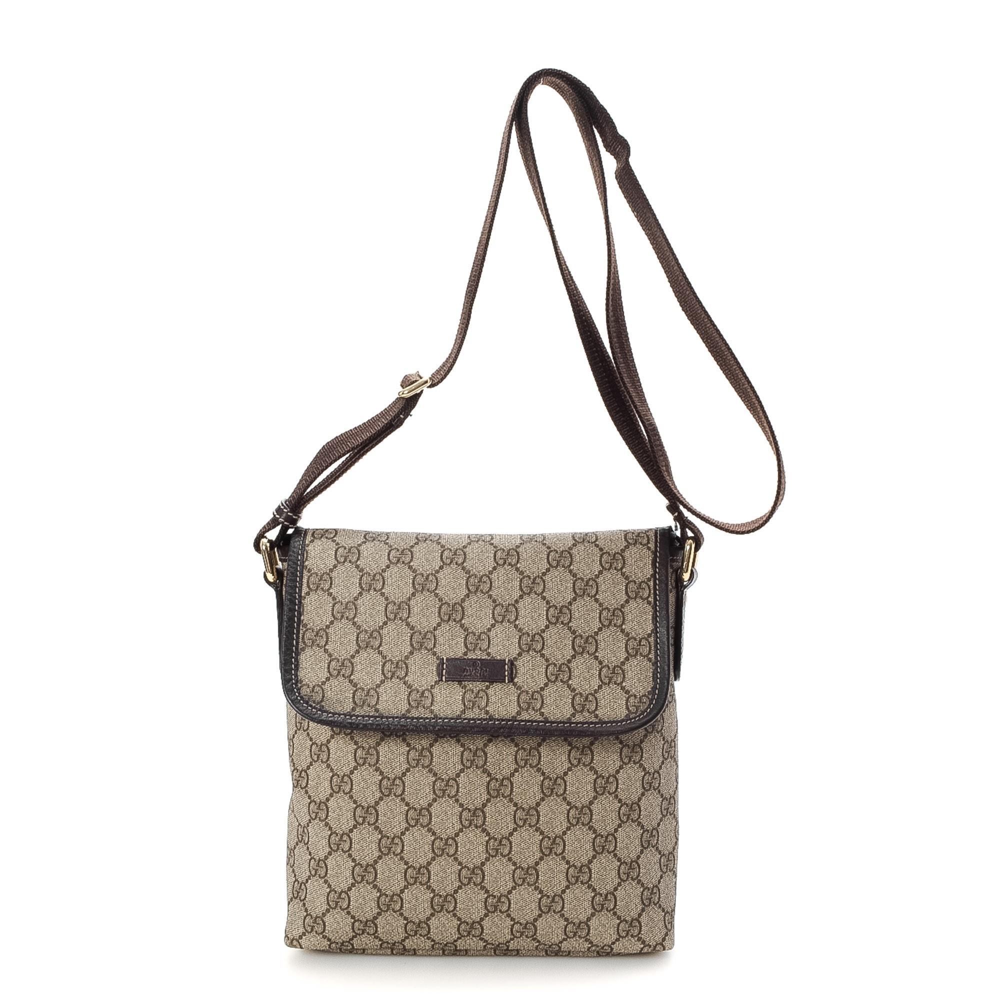 ba442a4dbecc Gucci Messenger Crossbody Handbags. NEW Authentic GUCCI GG Canvas Crossbody  Sling Bag ...