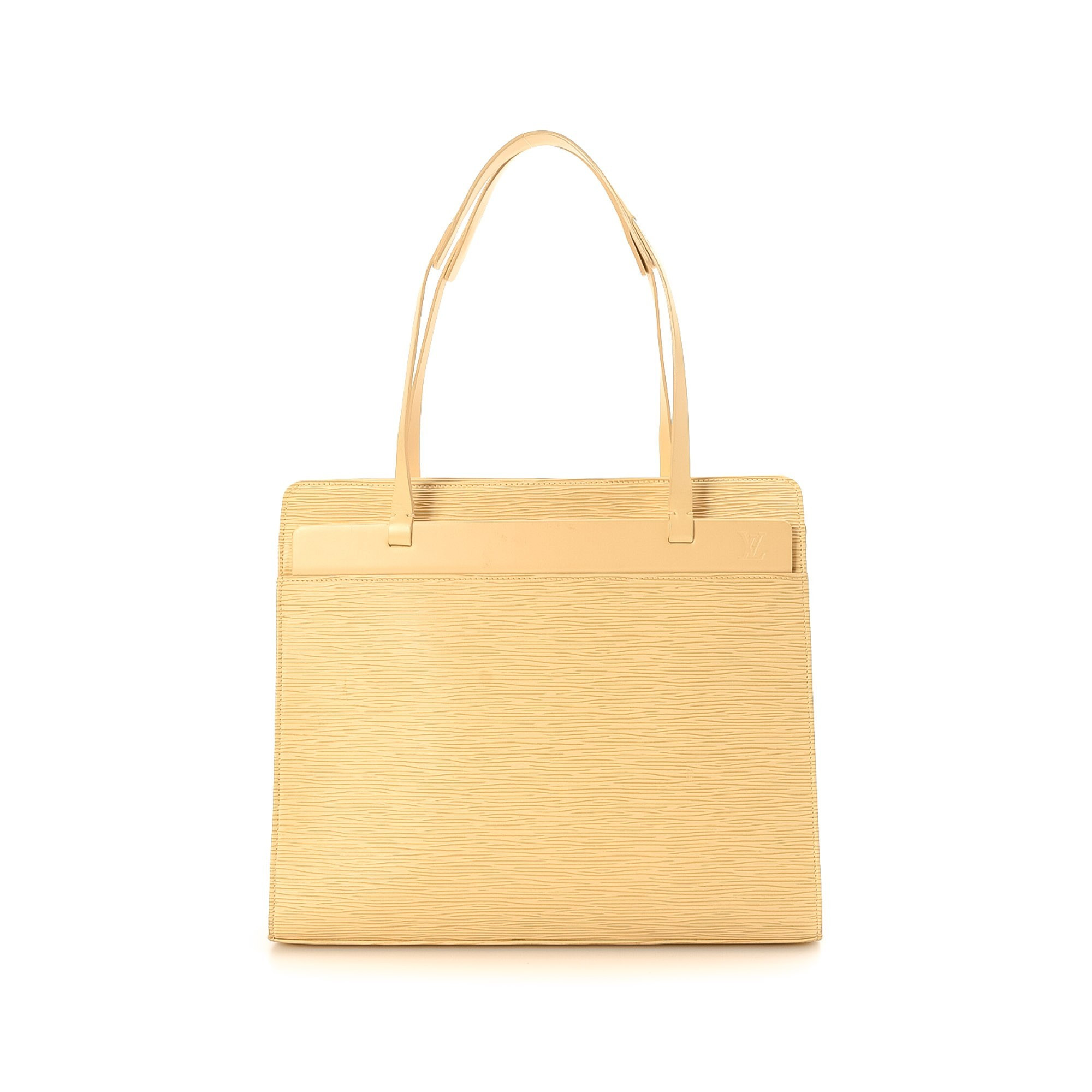 Louis Vuitton Croisette PM Epi Vanilla Leather Shoulder Bag LXRCO