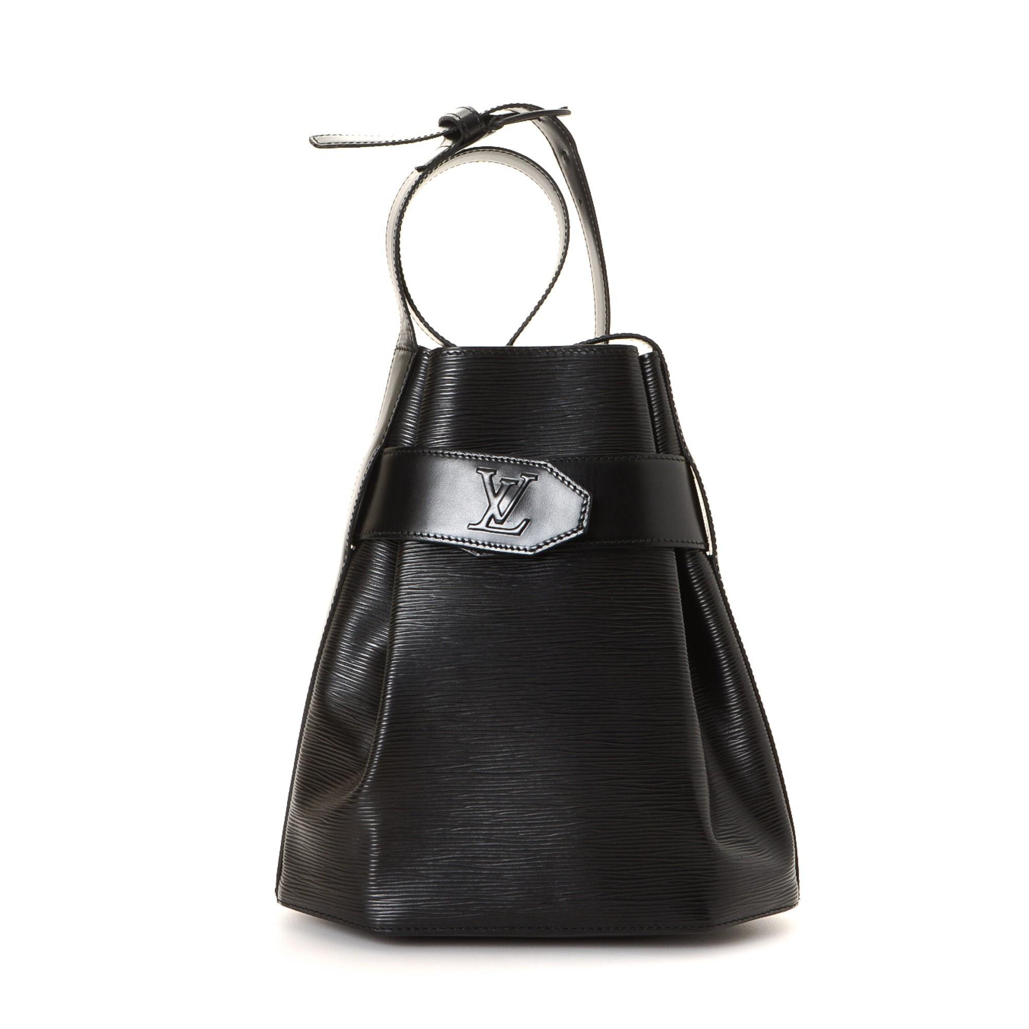 Louis Vuitton Sac D'epaule PM Epi Black Leather Shoulder Bag LXRCO