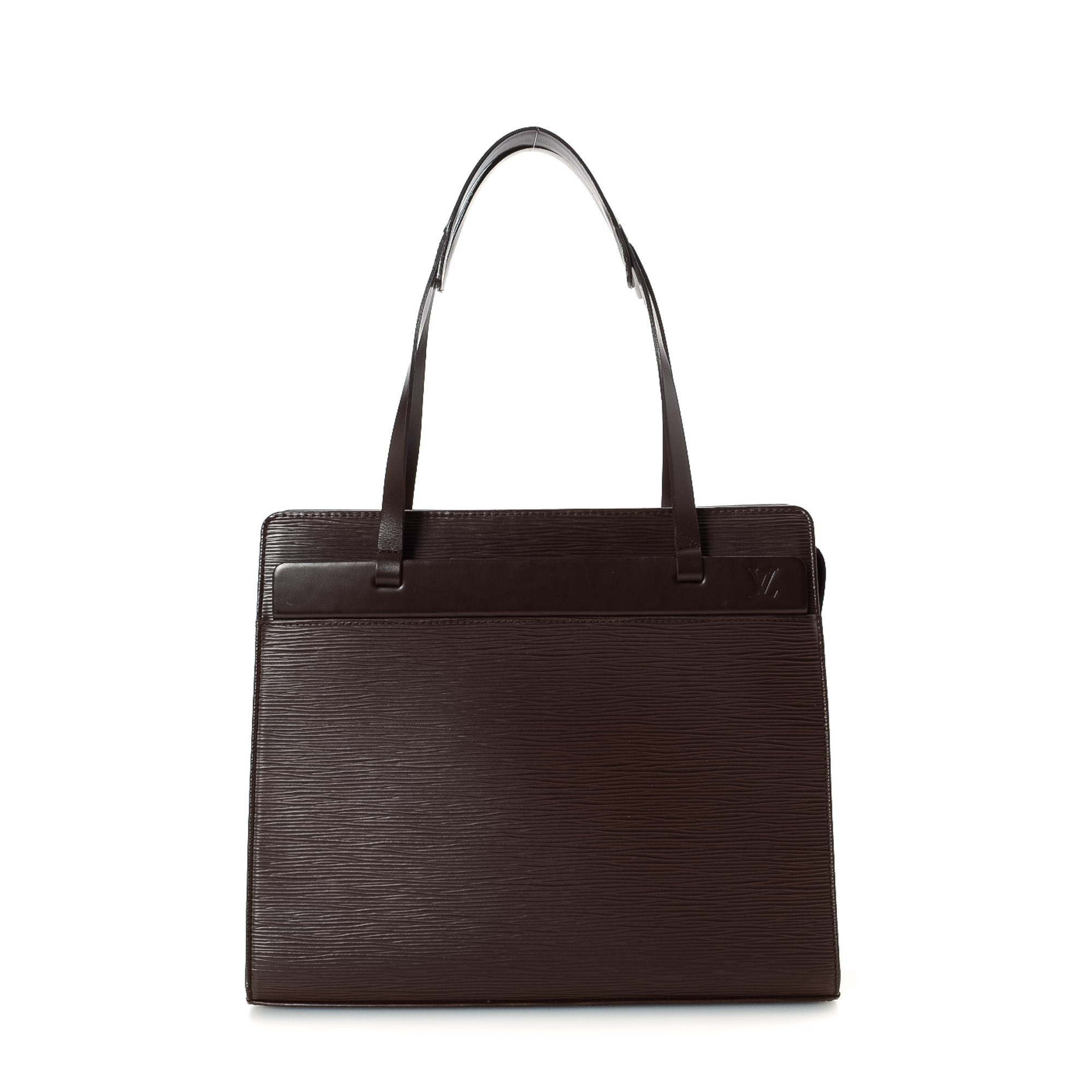 Louis Vuitton Croisette Epi Brown Leather Shoulder Bag LXRCO