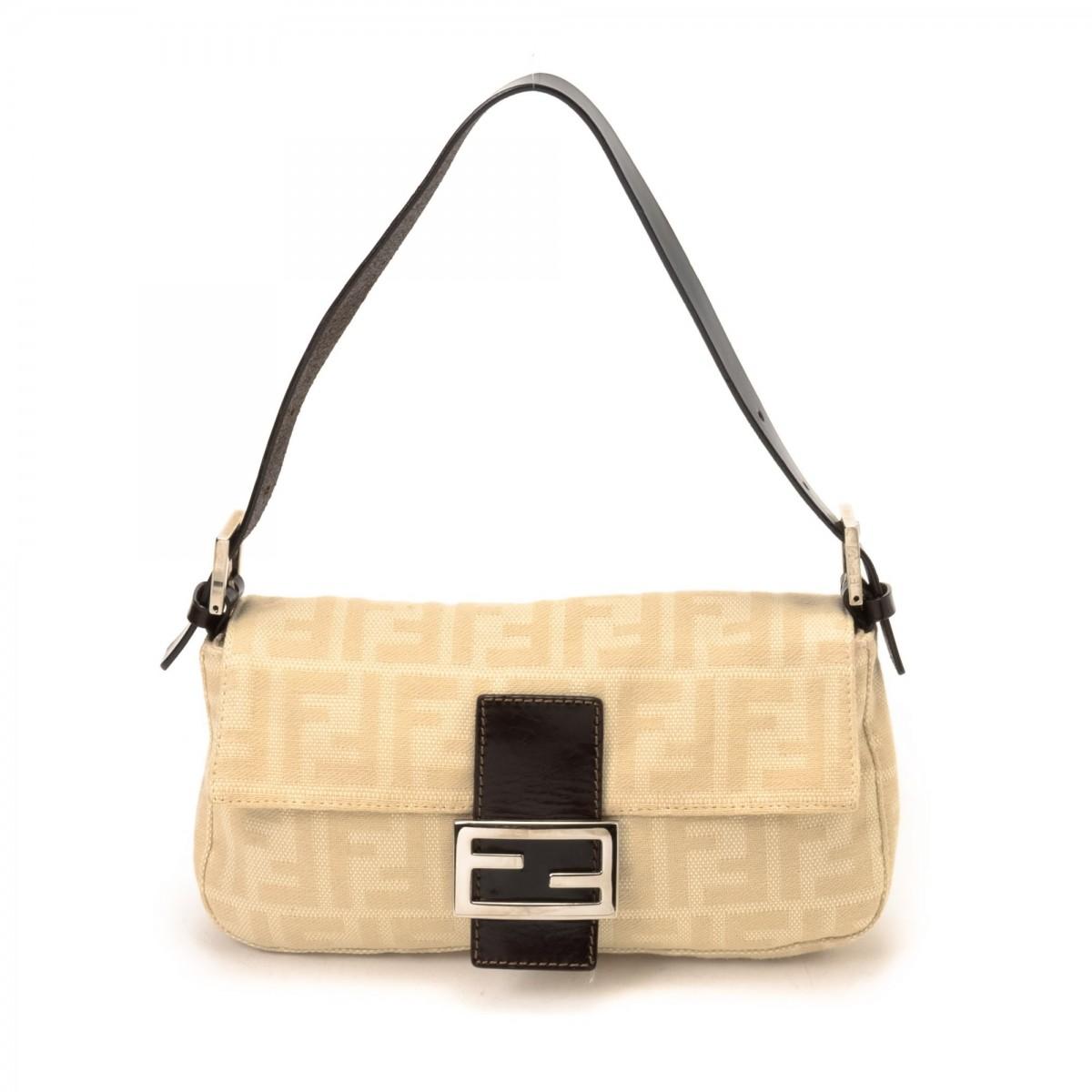 bda42eefdb0f Vintage Fendi Bags Toronto. Fendi Baguette Zucca Canvas - LXRandCo - Pre- Owned Luxury Vintage