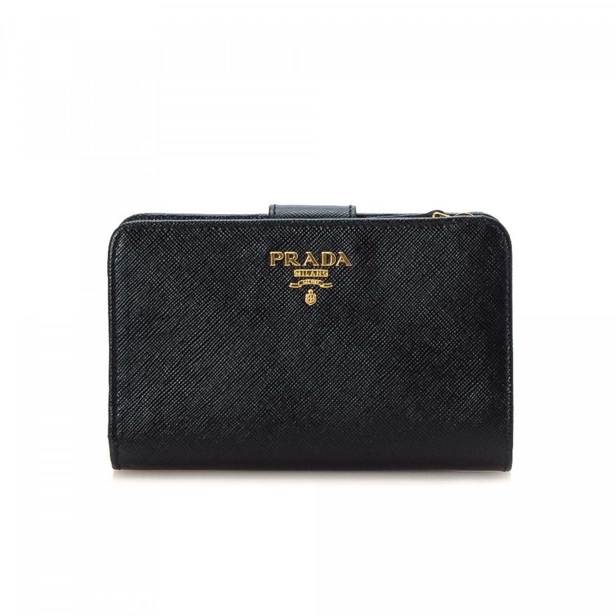 Prada Portafoglio Lampo Wallet