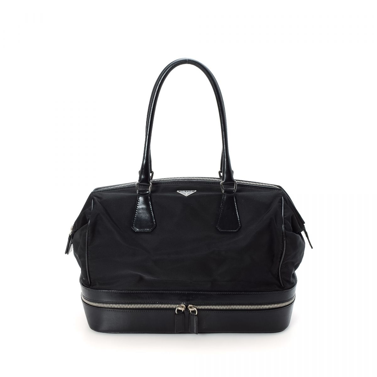 9d9261b8d0aa prada tessuto hobo bag nylon lxrandco pre owned luxury vintage ...