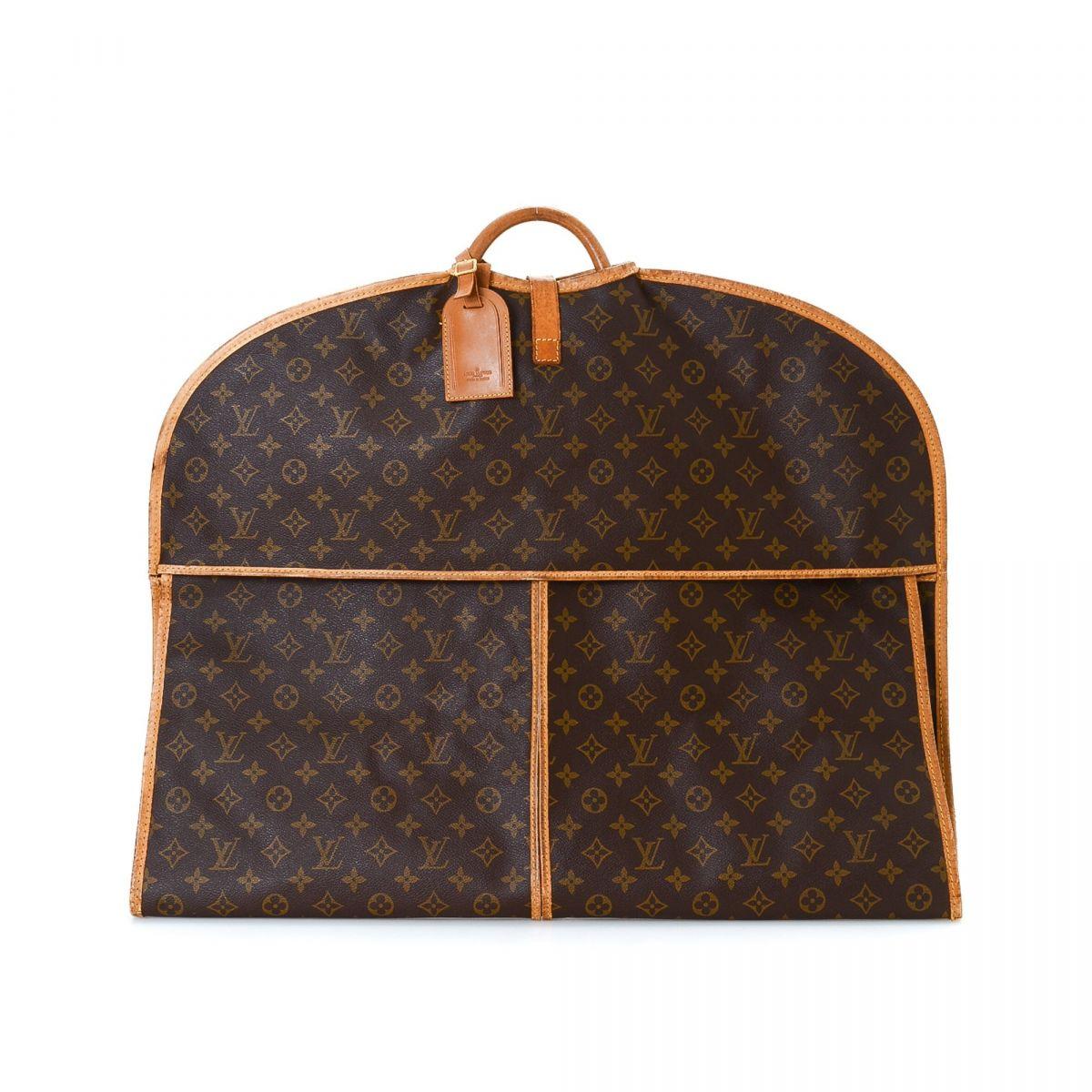 Louis vuitton housse porte habits homme garment bag monogram coated canvas lxrandco pre - Porte carte homme louis vuitton ...