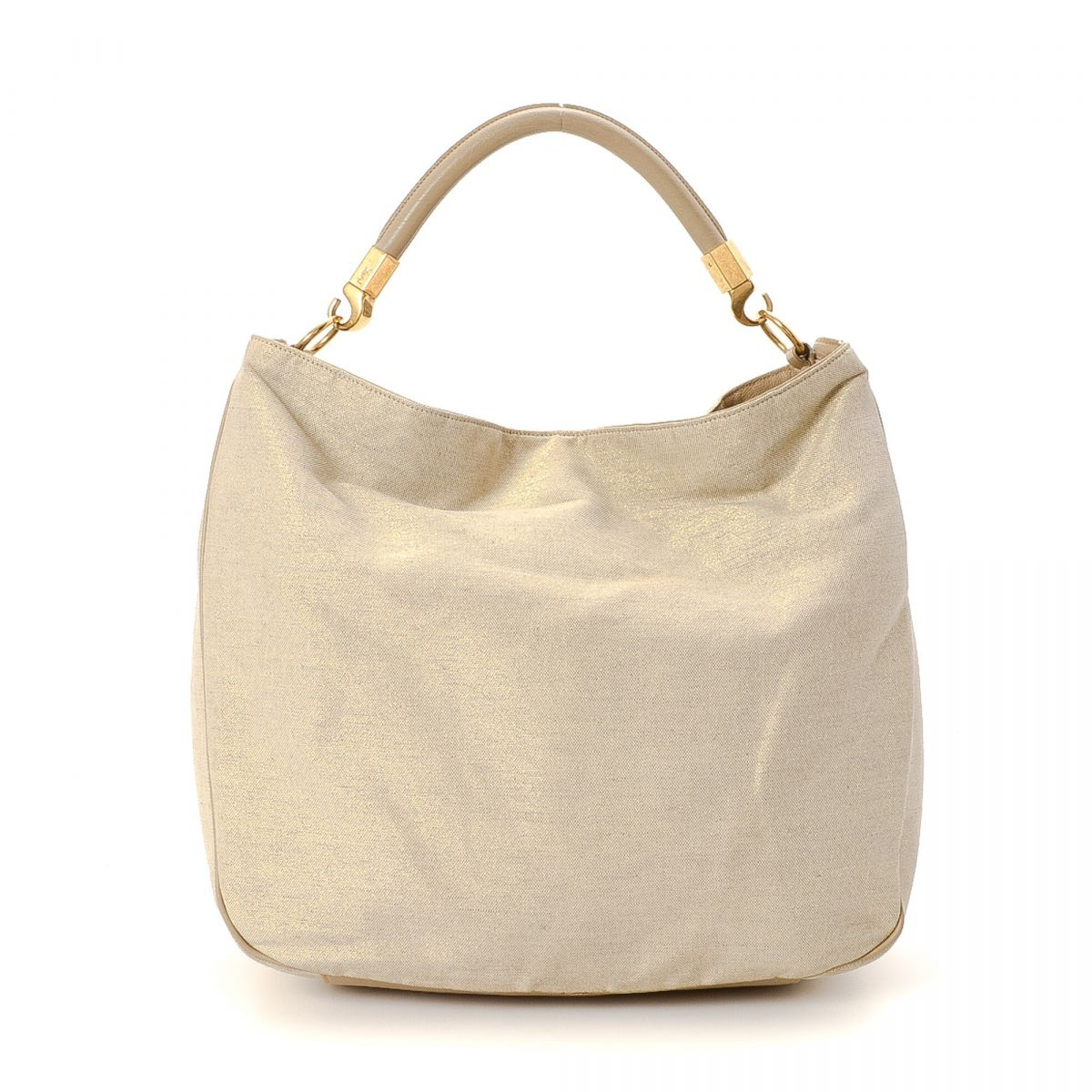 Yves Saint Laurent Canvas Hobo Bag Canvas - LXRandCo - Pre-Owned ...