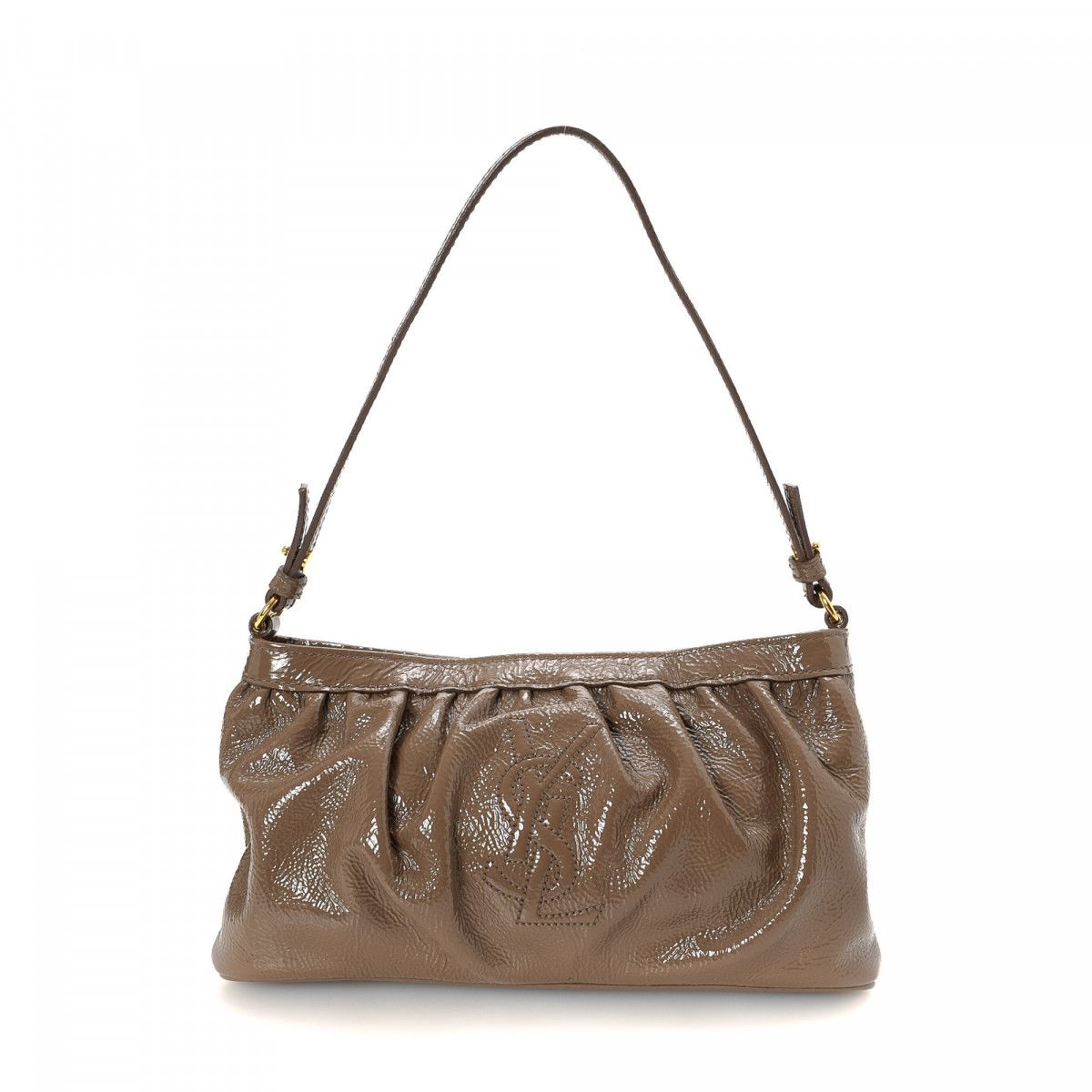 Yves Saint Laurent Patent Leather Handbag Patent leather ...