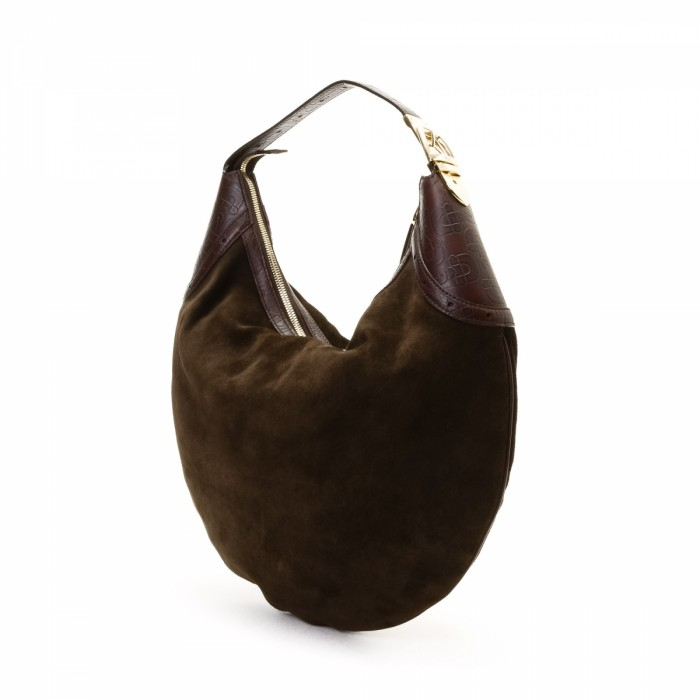 Gucci Hobo Bag Suede - LXRandCo - Pre-Owned Luxury Vintage