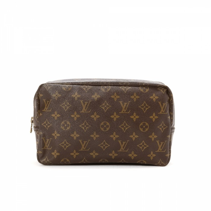 louis vuitton trousse de toilette 28 monogram coated canvas lxrandco pre owned luxury vintage