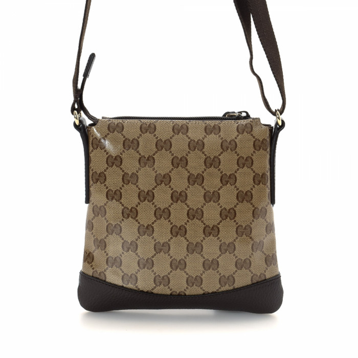 Gucci GG Crystal Crossbody Bag Gg crystal Coated Canvas - LXRandCo ...