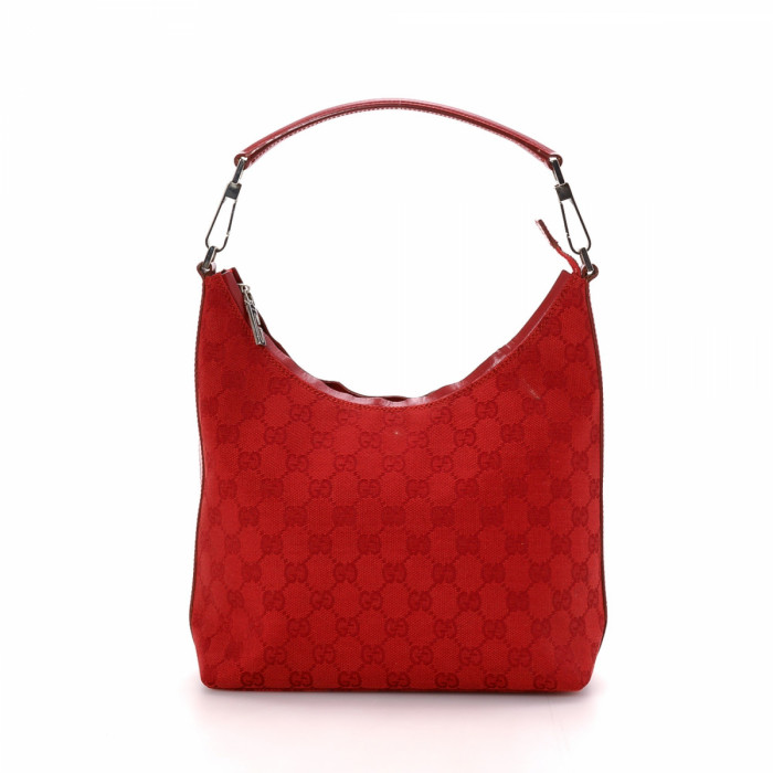 Gucci GG Canvas Hobo Bag GG Canvas - LXRandCo - Pre-Owned Luxury ...