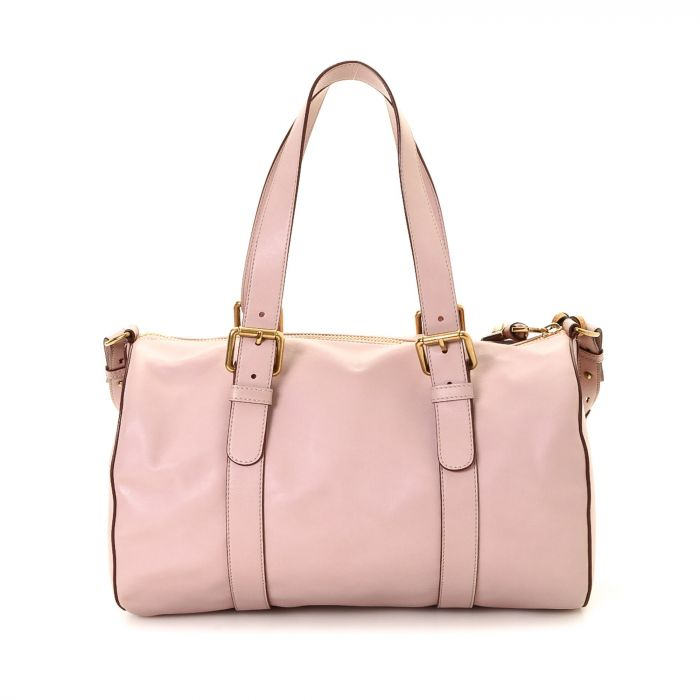 Chloé Two Way Bag Leather - LXRandCo - Pre-Owned Luxury Vintage