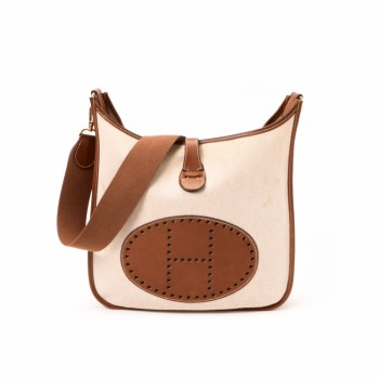 blue birkin bag price - hermes evelyne cloth crossbody bag