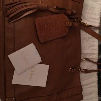 chloe elsie small bag - Chlo�� Alice Handbag Beige Leather Tote - LXR\u0026amp;CO Vintage Luxury