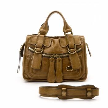 Chlo¨¦ Paddington Handbag Black Leather Handbag - LXR\u0026amp;CO Vintage Luxury