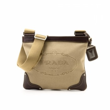 prada cross shoulder bag - prada logo canvas crossbody bag, authentic prada handbags online