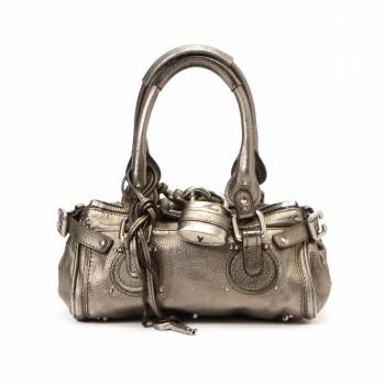 Chlo¨¦ Paddington Leather Handbag - LXR\u0026amp;CO Vintage Luxury