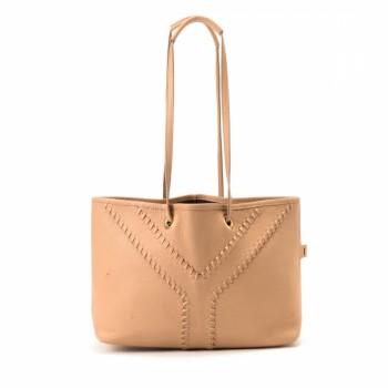 Yves Saint Laurent Two Way Bag Canvas Handbag - LXR\u0026amp;CO Vintage Luxury
