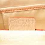 C¨¦LINE Boogie Bag Orange Cotton Handbag - LXR\u0026amp;CO Vintage Luxury