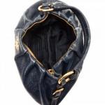 Prada shoulder_bag Cervo lux Navy Deerskin Shoulder Bag - LXR\u0026amp;CO ...