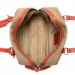 Prada Jacquard Logo Shoulder Bag Beige Canvas Shoulder Bag ...