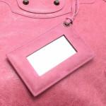 Balenciaga Day Pink Lambskin Shoulder Bag LXRCO 12