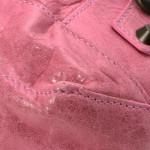 Balenciaga Day Pink Lambskin Shoulder Bag LXRCO 10