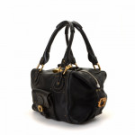 Chloé Paddington Bag Black Leather Shoulder Bag LXRCO 4