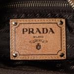 Prada Chain Shoulder Bag Brown Leather Shoulder Bag LXRCO 8