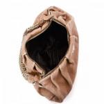Prada Chain Shoulder Bag Brown Leather Shoulder Bag LXRCO 3