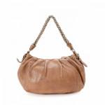 Prada Chain Shoulder Bag Brown Leather Shoulder Bag LXRCO 5