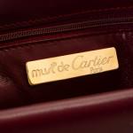 Cartier Double Flap Shoulder Bag Box Calf Bordeaux Box Calf Shoulder Bag LXRCO 8