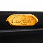 Cartier S de Cartier Shoulder Bag Box Calf Black Box Calf Shoulder Bag LXRCO 8