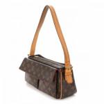 Louis Vuitton Viva-cite MM Monogram Brown Coated Canvas Shoulder Bag LXRCO 4