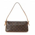 Louis Vuitton Viva-cite MM Monogram Brown Coated Canvas Shoulder Bag LXRCO 5