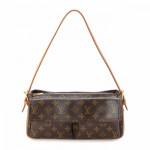 Louis Vuitton Viva-cite MM Monogram Brown Coated Canvas Shoulder Bag LXRCO 2