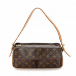 Louis Vuitton Viva-cite MM Monogram Brown Coated Canvas Shoulder Bag LXRCO 2