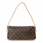 Louis Vuitton Viva-cite MM Monogram Brown Coated Canvas Shoulder Bag LXRCO 5