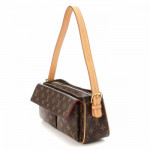 Louis Vuitton Viva-cite MM Monogram Brown Coated Canvas Shoulder Bag LXRCO 4