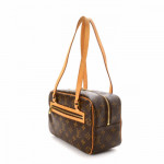 Louis Vuitton Cite MM Monogram Brown Coated Canvas Shoulder Bag LXRCO 4