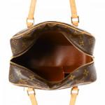 Louis Vuitton Cite MM Monogram Brown Coated Canvas Shoulder Bag LXRCO 3